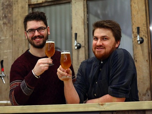 Demand for home brewing courses is booming in London
