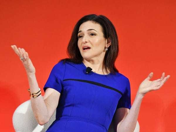 Sheryl Sandberg: Political ads are less than 1% of Facebook's revenue - Business Insider
