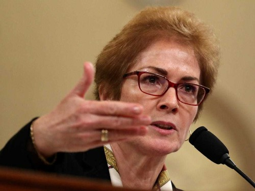 Marie Yovanovitch met with cheers, applause after impeachment testimony - Business Insider