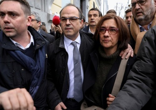 Two more jailed Catalan separatist leaders join hunger strike