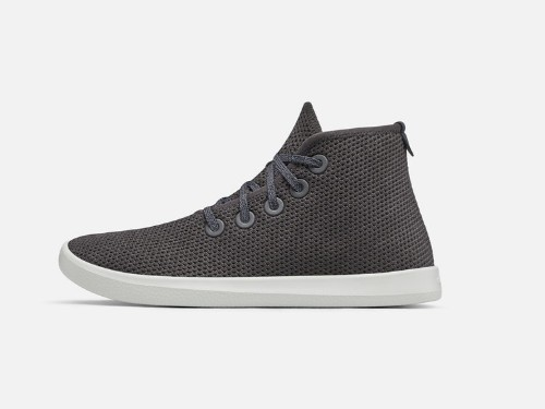 Allbirds has dropped a brand-new high-top sneaker made with a sustainable foam sole — here's how it feels in person