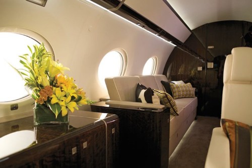 Take a look inside the 5 most luxurious private jets in the world