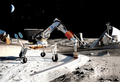 To explore deep space, an astronaut says we need to build a rocket factory on the moon
