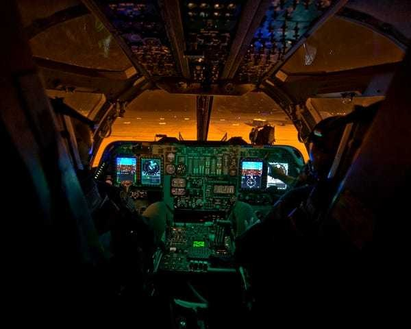 These photos show the amazing views of Air Force cockpits - Business Insider