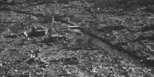 Never-before-seen video shows the devastation from the most powerful weapon ever used