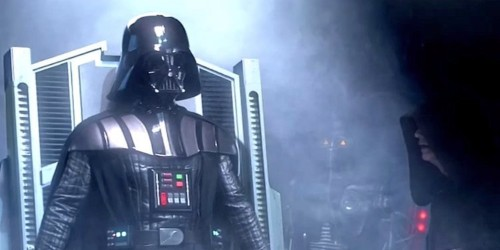 1,000 studio workers behind 'Revenge of the Sith' gathered to watch this epic Darth Vader scene get shot