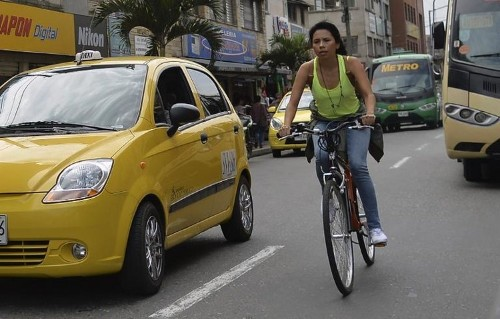 Colombian app builds rewards into bicycle culture