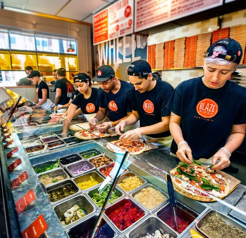 The CEO of a Chipotle-style pizza chain says he'll destroy chains like Pizza Hut, Domino's, and Papa John's the way Netflix destroyed Blockbuster