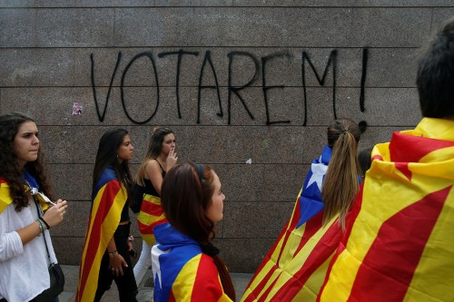 Spain is flirting with another Civil War
