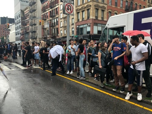 Adidas and Arizona Iced Tea sneaker launch ends in chaos: photos