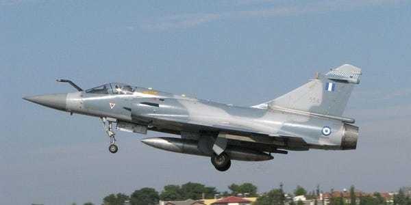 A Greek fighter pilot died in a crash after a mission to intercept Turkish jets - Business Insider