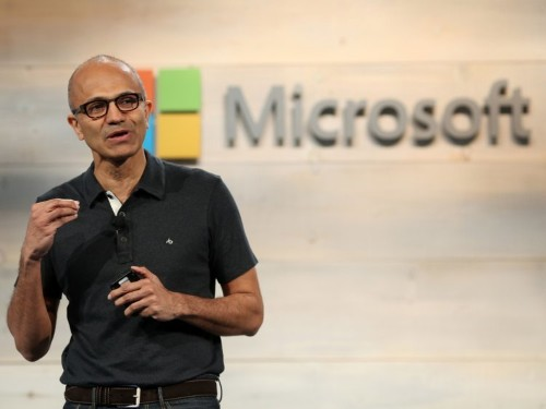 Here's the email Microsoft CEO Satya Nadella sent employees announcing a significant executive reorg