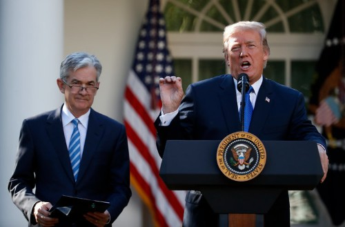 Trump lashes out at the Federal Reserve yet again, comparing it to 'a stubborn child'