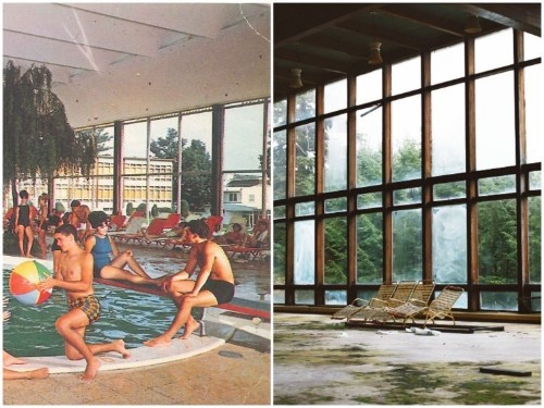 THEN AND NOW: What 12 abandoned places in the US looked like before they became ruins