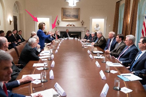 There are only 2 women at the table in 'meltdown' photo Trump tweeted - Business Insider
