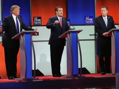 The Republican presidential race is more 'absurd' than it's ever been