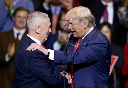 Jim Mattis is sending America a veiled message about Trump