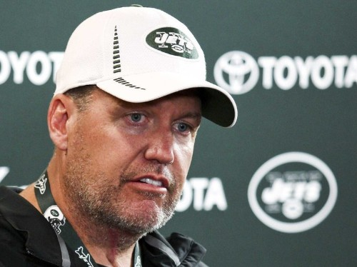 Jets Coach Rex Ryan Is Already Clearing Out His Desk And He Hasn't Even Been Fired Yet