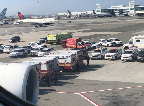 A Harvard professor says the dozens of passengers sickened on international flights are a clear 'warning shot' of a worst-case scenario