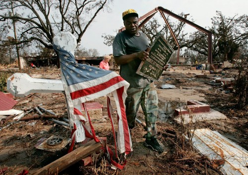 How the devastation of Hurricane Harvey compares with Hurricane Katrina