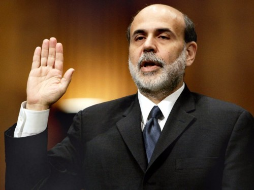 BERNANKE: Helicopter money could work, but I see 2 big problems