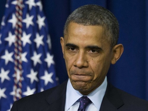 Obama's Approval Rating Dipped Into Dangerously Low Territory Yesterday