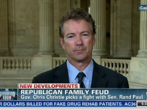 The Rand Paul-Chris Christie Fight Is Getting Nasty