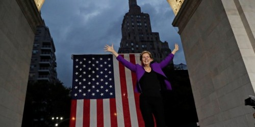 Elizabeth Warren drew crowd of thousands for 2020 campaign stop in NYC