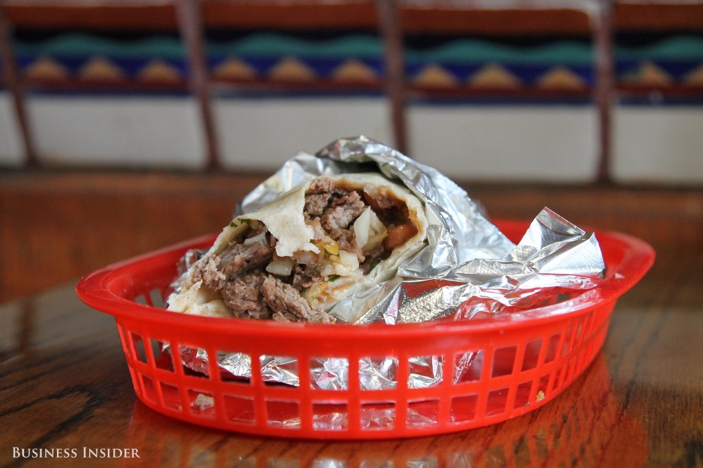 Best Burrito In San Francisco    - Magazine cover