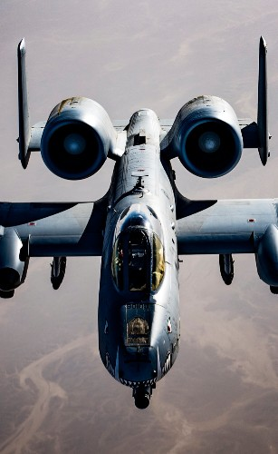 The Air Force just released a bunch of crazy photos of A-10 Warthogs over Afghanistan