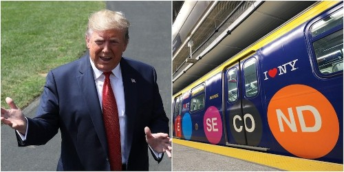 Trump says he'll try to help complete a long-awaited New York City subway project which would revolutionize commutes