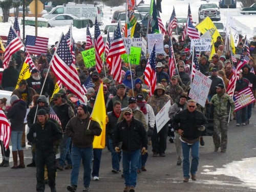 People are mocking the Oregon 'militia' on social media by calling them 'YallQaeda' and 'VanillaISIS'
