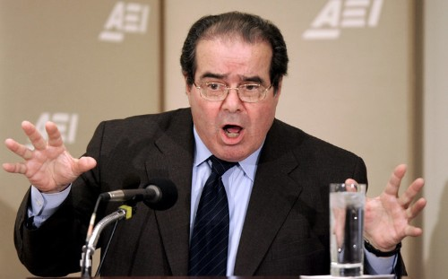 Justice Scalia warns that the US Supreme Court is causing the 'destruction of our democratic system'