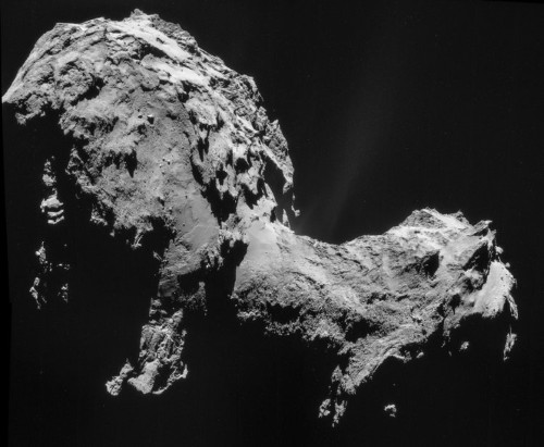 Dead comet with skull face to hurtle by Earth on Halloween