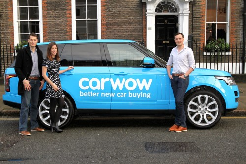 London startup Carwow has raised £12.5 million from the investors behind Dropbox and Spotify