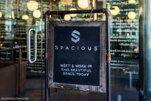 Spacious wants to turn restaurants into coworking spaces - Business Insider