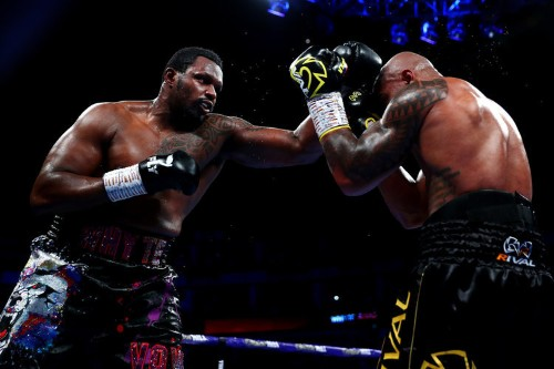 Dillian Whyte overcomes knockdown to win back-and-forth blockbuster