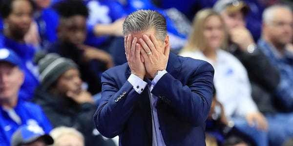Kentucky paid $90,000 to lose to Evansville at Rupp Arena - Business Insider