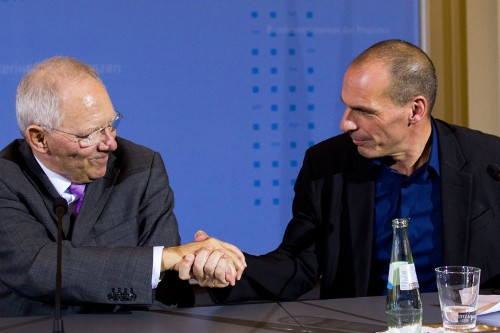 Schäuble reportedly told Greece: 'How much money do you want to leave the euro?'