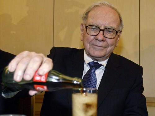Warren Buffett drinks Coke for breakfast
