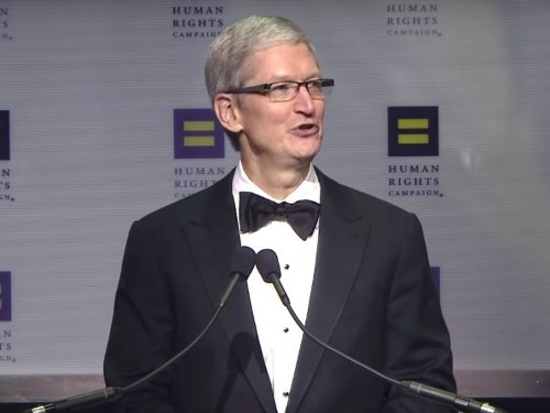 Apple CEO Tim Cook has explained in a heartfelt speech why he came out as gay