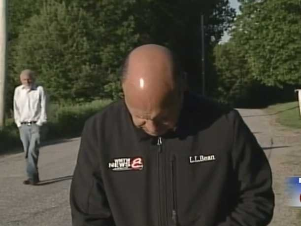 Missing Man Wanders Up Behind News Crew While They're Reporting On His Disappearance