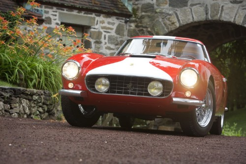 Check out these classic Ferraris that just sold for millions at auction in California