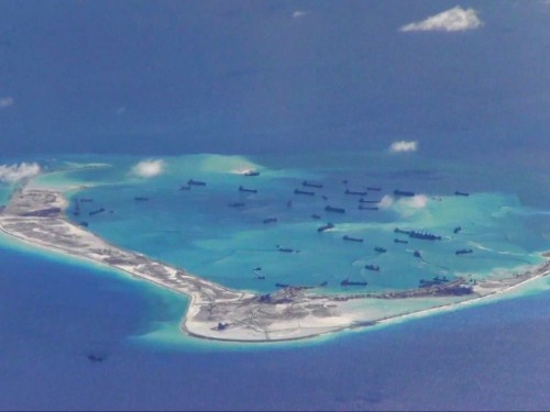 A US official confirmed that China deployed surface-to-air missiles on a disputed island in the South China Sea