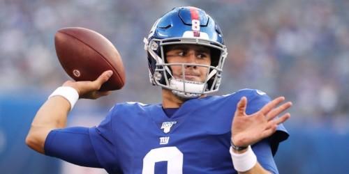 Daniel Jones aiming for Giants starting QB after strong preseason