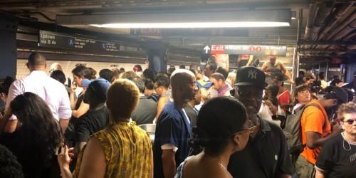 New York City subway flooding tweets, photos, videos of the rain