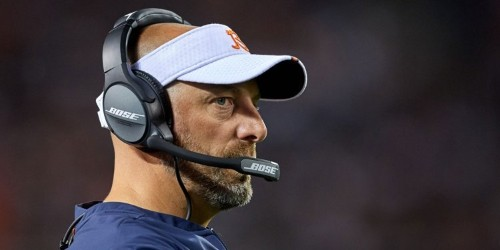 Bears head coach Matt Nagy is obsessed with the 'double-doink' as the team searches for a solution at kicker
