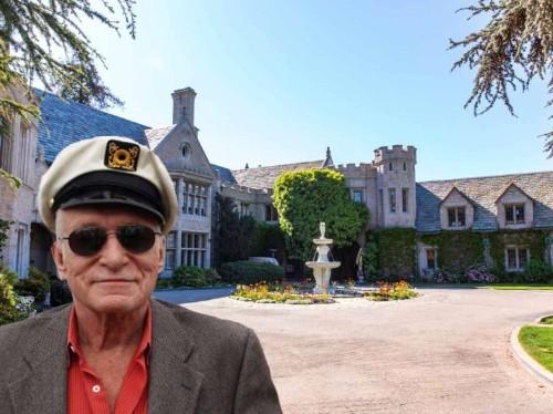 Go inside the infamous Playboy Mansion, Hugh Hefner's longtime $100 million home