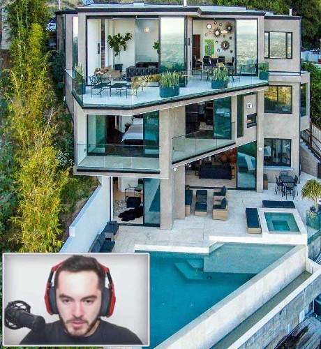 This guy bought a $4.5 million house with the money he made from streaming 'Minecraft' - Business Insider