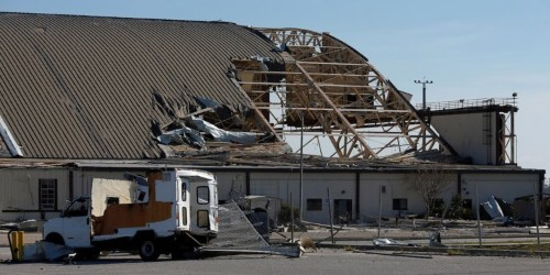 The Air Force has big plans to get rid of its worst buildings, but Congress and natural disasters are getting in the way